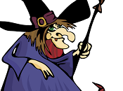 strega Frittella, mago Marangone serpente Clemente