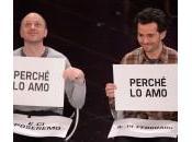 Sanremo: niente bacio palco Stefano Federico (video)