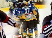 """Hockey ghiaccio: l'Asiago, nonostante """"strano"""" arbitraggio, batte Milano nervoso frustrato, assicurandosi primato Relegation Round. Tifosi milanesi trasferta censurare! Valpusteria Bolzano torna vetta alla cla..."""