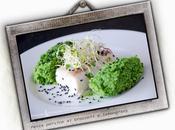 Pesce persico lemongrass sesamo nero Perch with broccoli black sesame