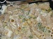 Pasta Philadelphia zucchine.
