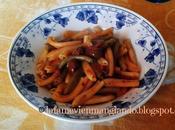 Gemelli bicolore sugo d'olive