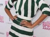 Saldana Dolce Gabbana 2013 Film Independent Spirit Awards