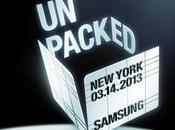 Samsung presenta ufficialmente Galaxy marzo 2013