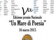 """Finalisti della Edizione Premio Nazionale mare poesia"""": finale marzo 2013 Roma"""