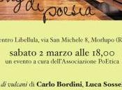 Sabato marzo 2013 18,00 reading Bordini Giovenale