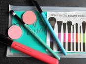Neve Cosmetics, Glossy Artist Brushes (Red Amplify, Turquoise Eyebuki, Teal Blending)