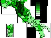 Distribuzione Voti Provincia: Partito Democratico
