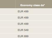 Offerte Emirate Airlines: Voli Asia euro!