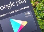 Gift Card Google Play sono disponibili oggi anche Regno Unito
