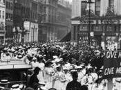 Festa della Donna centenario delle Suffragette