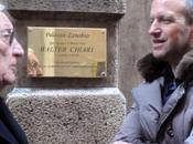 targa Walter Chiari nella casa natale Verona