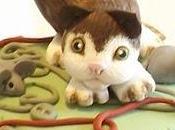 Cake Torta decorata gatto topini
