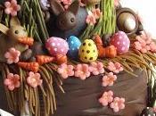 Esercito conigli...??? Sistemato!!! Torta pasqua coniglietti! Rabbit cake