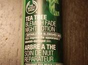 Review: Body Shop Tree Blemish Fade Night Lotion