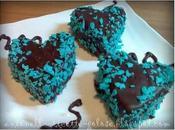Cuoricini ricoperti glassa cioccolato!