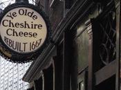 Olde Cheshire Cheese: antichi famosi Londra.