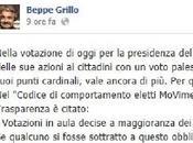 Beppe Grillo richiama alle dimissioni quanti hanno votato Boldrini Grasso