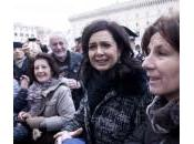 Laura Boldrini, presidente della Camera Napolitano piedi (foto)