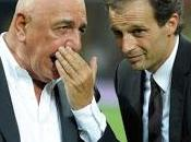 "Galliani conferma Allegri: panchina saldata fiamma ossidrica"""