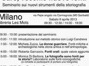 """Care vecchie """"nuove"""" fonti: seminario Milano"""