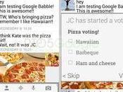 Nuove immagini suggeriscono alcune delle funzionalità Google Babble