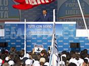 'Tutti Silvio' manifestazione Piazza Popolo (delle Libertà)
