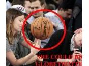 Olivia Wilde globetrotter alla partita basket