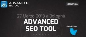 Resoconto Advanced Tool 2013