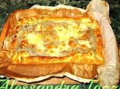 .torta rustica carciofi gorgonzola