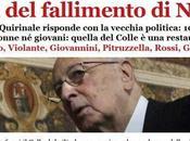 Napolitano Presidente indegno errori