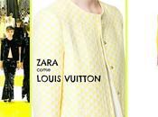 Zara come louis vuitton: primavera gialla scacchi