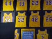 Shaquille O'Neal, Lakers ritirano maglia