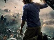 Brad Pitt osserva dall'alto l'apocalisse zombie nuovo poster IMAX World