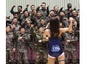 """Seul, riservisti dell'esercito ballano """"Gangnam Style"""" (foto)"""
