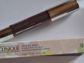 Review: Chubby Stick Shadow tint eyes CLINIQUE