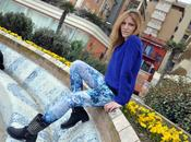 shades Blue Outfit Post