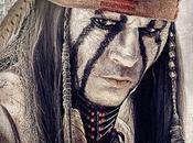 L'indiano Tonto volto Johnny Depp secondo character poster Lone Ranger