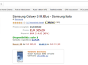 Samsung Galaxy nuovo euro Amazon Italia