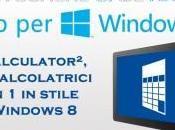 Windows Calculator², calcolatrici stile