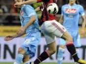 Milan Napoli finiscono pari, Fiorentina Roma