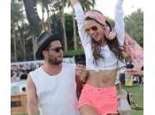 """Alessandra Ambrosio """"hippy"""" Coachella Festival (foto)"""
