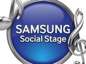 musica diventa social Samsung Mobile