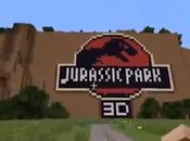 Jurassic Park ricreato Minecraft