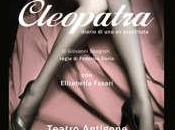 Roma, teatro Antigone, maggio scena Cleopatra, dramma della prostituzione