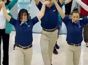 Dance Flash all'aeroporto Dubai