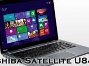 Arriva Italia l'ultrabook Toshiba Satellite U840t, partire euro