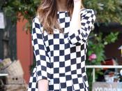 Outfit: black white super fifties