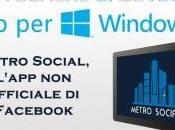 Windows Metro Social, l'app ufficiale Facebook