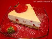 Cheesecake fragole limone